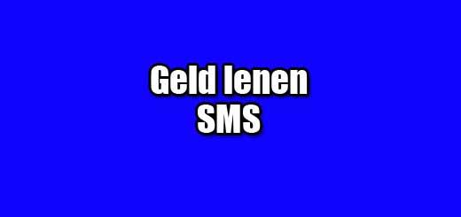 geld lenen sms
