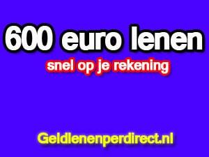 600 euro lenen zonder bkr toetsing