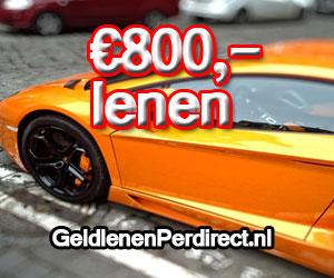 800 euro lenen zonder bkr check