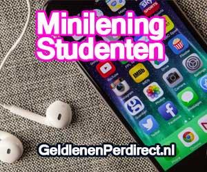 Minilening voor studenten