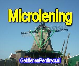 Microlening zonder bkr