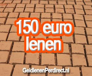 Snel 150 euro lenen