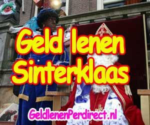 Geld lenen voor Sinterklaas