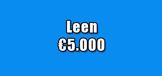 leen 5000 euro