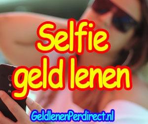 Geld lenen met een selfie