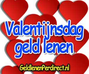 Geld lenen voor Valentijnsdag