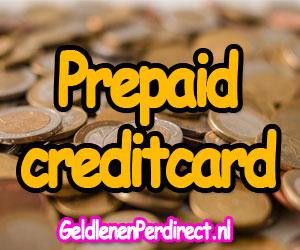 Voordelen prepaid creditcard