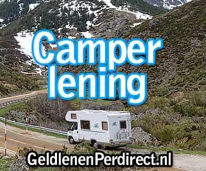 Camper kopen met camperlening