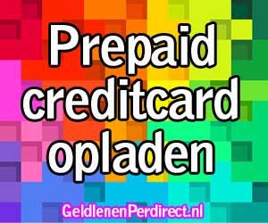 Hoe laad ik mijn prepaid creditcard op