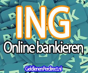 Online bankieren bij de ING