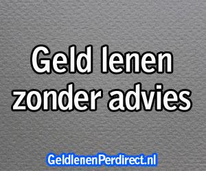 Geld lenen zonder advies