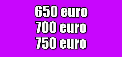 650 700 750 euro lenen