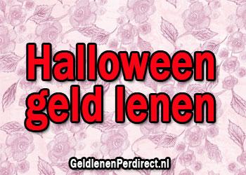 Snel geld lenen voor Halloween
