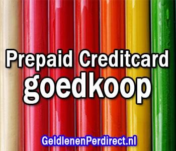Welke prepaid creditcard is goedkoop