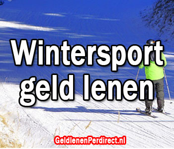 Geld lenen voor de wintersport