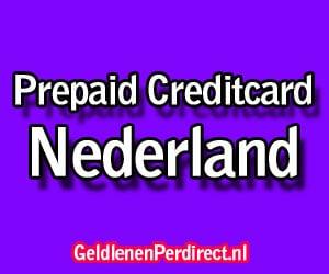 Prepaid creditcard kopen in Nederland