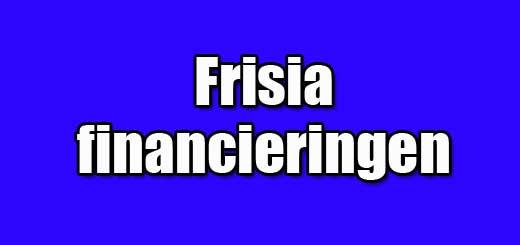 frisia financieringen