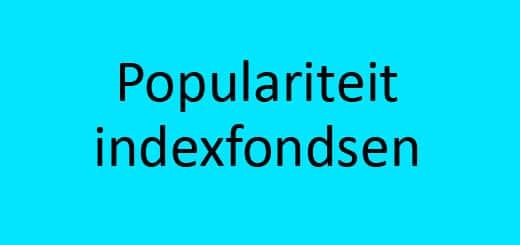 indexfondsen populair