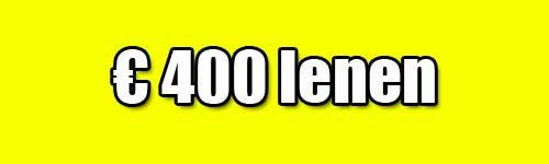 400 euro lenen